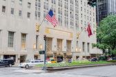 The Waldorf-Astoria Hotel in New York City — Stock Photo
