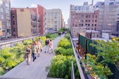 High Line Park, New York — Stockfoto