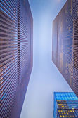 New York City - Manhattan Skyscrapers — Stock Photo