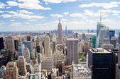New York Skyline — Stock Photo