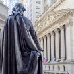 Wall Street, New York — Stock Photo