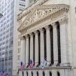 NY Stock Exchange, Wall Street — Stock Photo #30145345