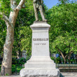 Monument to Garibaldi, Washington Square, New York — Stock Photo