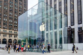Apple Store at 5th Ave, New York City — Stock Photo