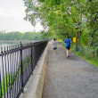 Jogging in Central Park, New York — Stock Photo #30304499