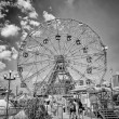 Stock Photo: Wonder Wheel in Coney Island, New York