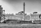 Facade of ancient theatre — Stock Photo