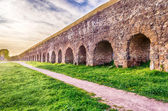Park of the Aqueducts, Rome — Stock Photo