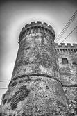 Bastion of The Odescalchi Castle in Bracciano — Stock Photo