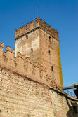 Medieval Old Castle Castelvecchio in Verona, Italy — Stock Photo