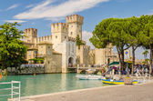 Scaliger Castle, Sirmione, Italy — Stock Photo