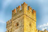 Scaliger-kasteel, sirmione, italië — Stockfoto