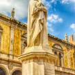 Постер, плакат: Dante Alighieri Statue Verona