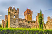 Scaliger Castle at Lazise, Lake Garda, Italy — Stockfoto