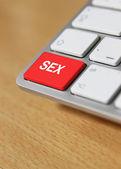 Xxx keyboard keys — Stock Photo