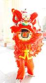 Lion dance costume — Stock Photo