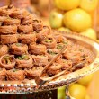 Stock Photo: Arabic sweets baklava