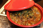 Arabic food in tagine — Foto de Stock