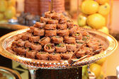 Arabic sweets baklava — Stock Photo
