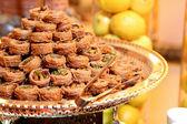 Arabic sweets baklava — Stock Photo