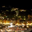 Portofino by night — Stock Photo