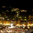 Portofino by night - Stock Photo