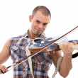 Guitarist or violinist - Stock Photo