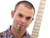 Musicist portrait — Stock Photo