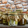 Pickled vegetables — Stock fotografie