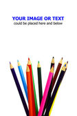 Color pencils — Foto Stock