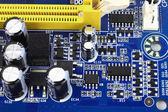 Hi-tech computer hardware — Stock Photo