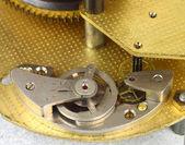 Clockwork details macro — Stock Photo