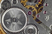 Clockwork closeup — Stock Photo