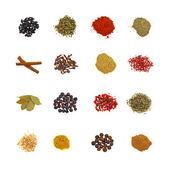 Set of spices — Stock Photo
