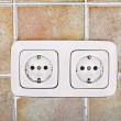 Electrical outlet — Stock Photo