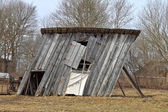 Ramshackle barn — Stock Photo