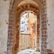 Doorway to the balcony — Stock Photo #30215661