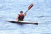 Canoeing — Stock Photo