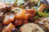 Healthy fresh vegetarian food — Stock Photo