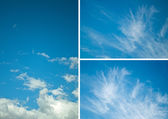 Sky collection — Stock Photo