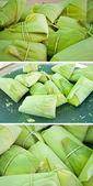 Collection pamonha - tamale corn — Stock Photo