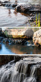 Collection waterfall — Foto Stock