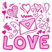 Love things — Stock Vector