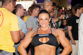 Rio de Janeiro Brazil April 26 2013 Athlete on Arnold Classic Brasil 2013 — Stock Photo