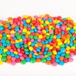 Sugar Coated Chocolate Buttons (Smarties) — Stock Photo #26481289