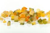 Crystallized fruits — Stock Photo