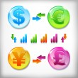 Financial market — Stock Vector #19442985