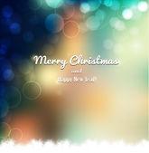 Merry Christmas card — Stock Vector