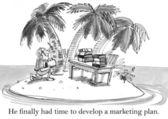 Hij had eindelijk tijd om verkoop te berekenen — Stockfoto
