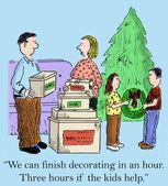 Podemos terminar decorando en una hora — Foto de Stock